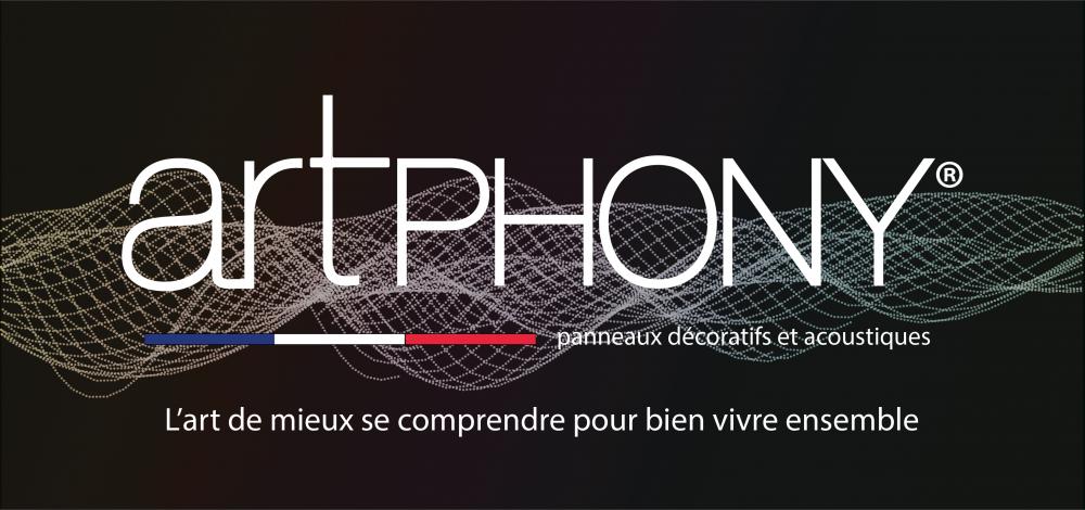 Logo partenaire Artphony - panneaux décoratifs et acoustiques | Sonnier, Menuiserie, Panneaux, Bois | Isère (38), Drôme (26), Ardèche (07)