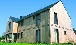 Maison Sapin Louisiane Vert | Sonnier, Menuiserie, Panneaux, Bois | Isère (38), Drôme (26), Ardèche (07)