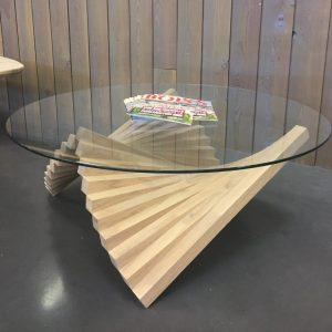 Sonnier design table basse mixant le verre et le bois | Sonnier, Menuiserie, Panneaux, Bois | Isère (38), Drôme (26), Ardèche (07)