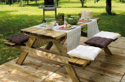 Table pique-nique | Sonnier, Menuiserie, Panneaux, Bois | Isère (38), Drôme (26), Ardèche (07)