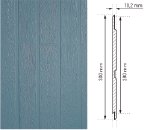 Panneau Ultra-plank | Sonnier, Menuiserie, Panneaux, Bois | Isère (38), Drôme (26), Ardèche (07)
