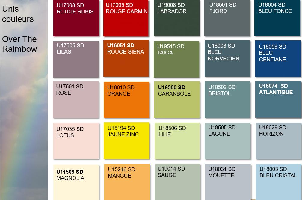 Gamme décorative Pfleiderer Unis couleurs | Sonnier, Menuiserie, Panneaux, Bois | Isère (38), Drôme (26), Ardèche (07)