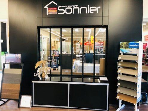Verrière showroom | Sonnier, Menuiserie, Panneaux, Bois | Isère (38), Drôme (26), Ardèche (07)
