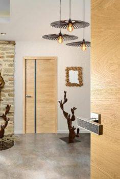ambiance porte signature minéral chêne | Sonnier, Menuiserie, Panneaux, Bois | Isère (38), Drôme (26), Ardèche (07)