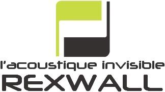 Logo partenaire l'acoustique invisible REXWALL | Sonnier, Menuiserie, Panneaux, Bois | Isère (38), Drôme (26), Ardèche (07)