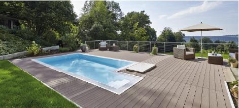 Terrasse grise piscine 2021 | Sonnier, Menuiserie, Panneaux, Bois | Isère (38), Drôme (26), Ardèche (07)