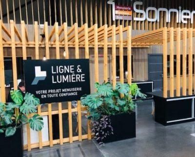 Entrée L&L | Sonnier, Menuiserie, Panneaux, Bois | Isère (38), Drôme (26), Ardèche (07)