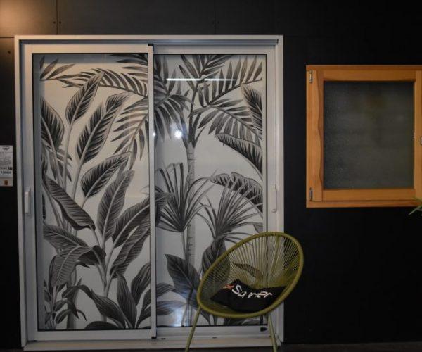 Porte fenêtre coulissante | Sonnier, Menuiserie, Panneaux, Bois | Isère (38), Drôme (26), Ardèche (07)