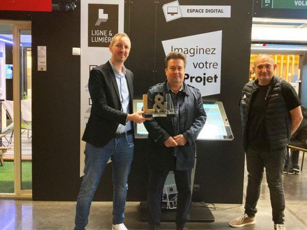 Trophée Antoine & Commerciaux | Sonnier, Menuiserie, Panneaux, Bois | Isère (38), Drôme (26), Ardèche (07)