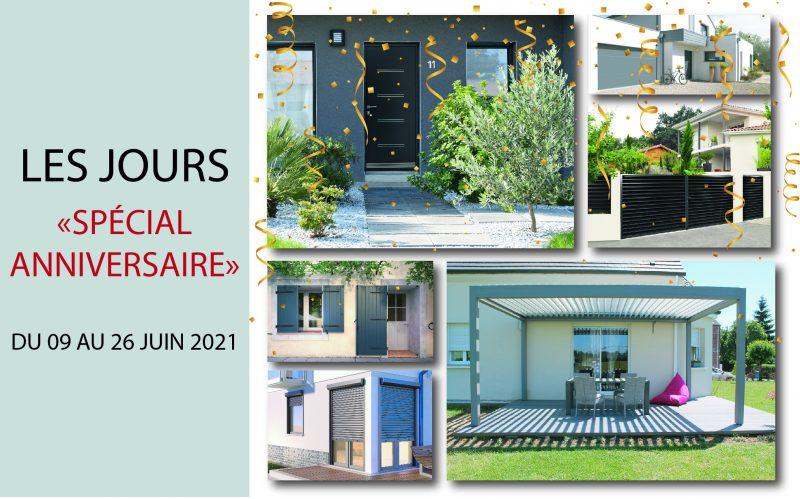Anniversiare L&L | Sonnier, Menuiserie, Panneaux, Bois | Isère (38), Drôme (26), Ardèche (07)